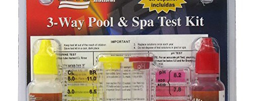 poolmaster test kit instructions